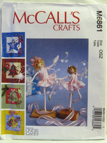 McCall's 6861 Pixie Decorations -  - Smiths Depot Sewing Pattern Superstore