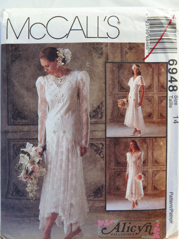 McCall\'s 6948 Misses\' Bridal Gowns and Bridesmaids Dresses – Smiths ...