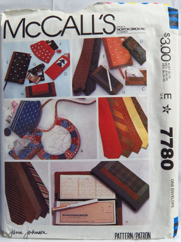 McCall's 7780 Gift Package -  - Smiths Depot Sewing Pattern Superstore