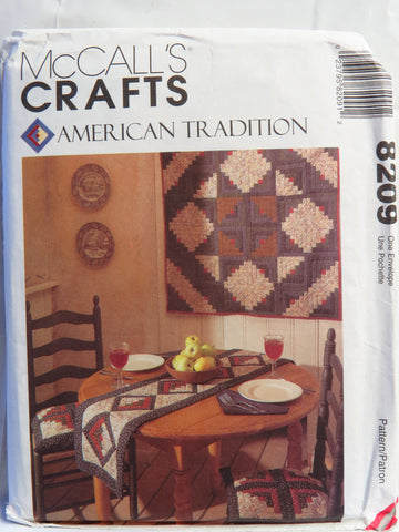 McCall's 8209 Kitchen Accessories -  - Smiths Depot Sewing Pattern Superstore