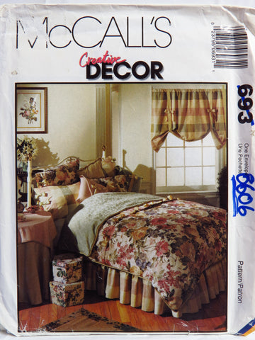 McCall's 0693 Bedroom Essentials -  - Smiths Depot Sewing Pattern Superstore