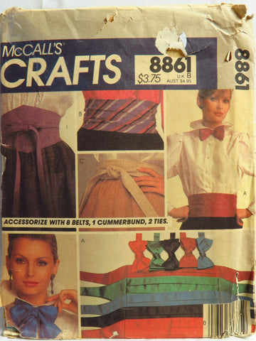 McCall's 8861 Accessories Package -  - Smiths Depot Sewing Pattern Superstore