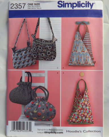 Simplicity 2357 Handbags and Purses -  - Smiths Depot Sewing Pattern Superstore  - 1