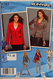 Simplicity 1781 Misses' Jackets in Two Lengths with Front Collar Variations - R5 (14-16-18-20-22) - Smiths Depot Sewing Pattern Superstore  - 1
