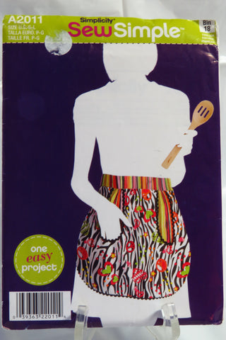 Simplicity 2011 Misses' Aprons -  - Smiths Depot Sewing Pattern Superstore