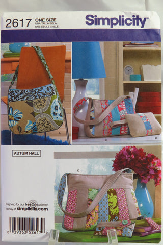 Simplicity 2617 Bags -  - Smiths Depot Sewing Pattern Superstore