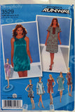 Simplicity 3529 Misses' Pullover Dress with Length Variations - D5 (4-6-8-10-12) - Smiths Depot Sewing Pattern Superstore  - 1