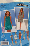 Simplicity 3529 Misses' Pullover Dress with Length Variations - P5 (14-16-18-20) - Smiths Depot Sewing Pattern Superstore  - 2