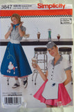 Simplicity 3847 Misses' Costumes - R5 (14-16-18-20-22) - Smiths Depot Sewing Pattern Superstore  - 1