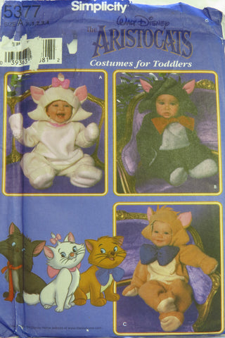 Simplicity 5377 Toddlers' Costume -  - Smiths Depot Sewing Pattern Superstore