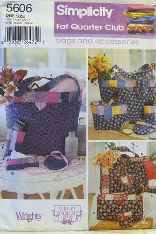 Simplicity 5606 Handbags and Accessories -  - Smiths Depot Sewing Pattern Superstore