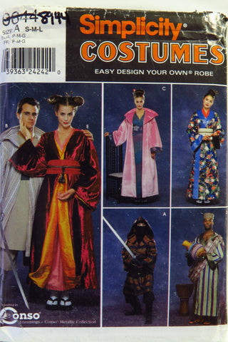Simplicity 0644 Men's/Women's/Teens' Costume -  - Smiths Depot Sewing Pattern Superstore