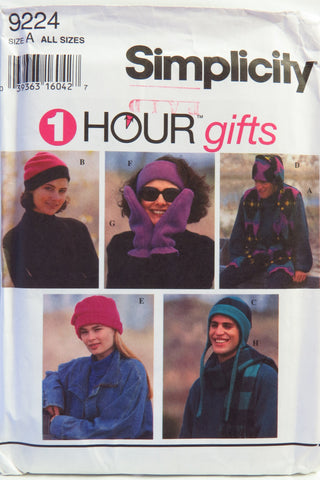 Simplicity 9224 Misses', Men's or Teens' Outerwear Separates -  - Smiths Depot Sewing Pattern Superstore