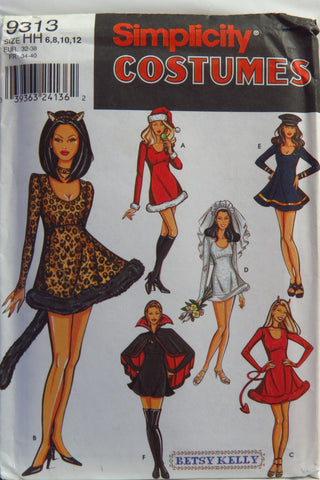 Simplicity 9313 Misses' Costume -  - Smiths Depot Sewing Pattern Superstore