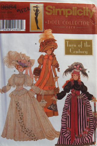 "Simplicity 0684 Doll Clothes for 11½"" Fashion Doll -  - Smiths Depot Sewing Pattern Superstore"