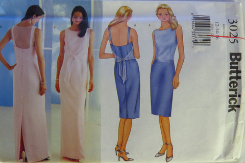 Butterick 3025 Misses' Petite Dress - 12-14-16 - Smiths Depot Sewing Pattern Superstore  - 1