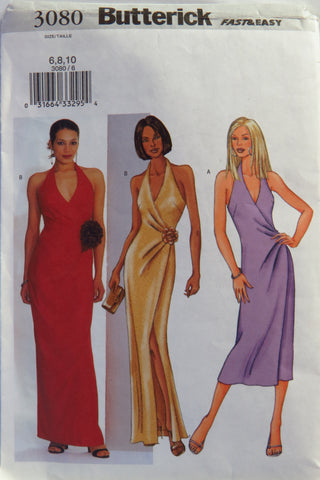 Butterick 3080 Misses' Dress -  - Smiths Depot Sewing Pattern Superstore