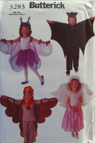 Butterick 3283 Child's Costume -  - Smiths Depot Sewing Pattern Superstore