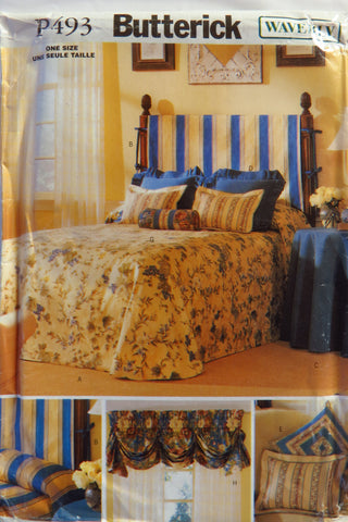 Butterick 3325 Bedroom Accessories -  - Smiths Depot Sewing Pattern Superstore
