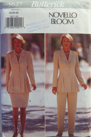 Butterick 3627 Misses' Top, Skirt and Pants -  - Smiths Depot Sewing Pattern Superstore