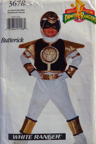 Butterick 3678 Child's Costume -  - Smiths Depot Sewing Pattern Superstore
