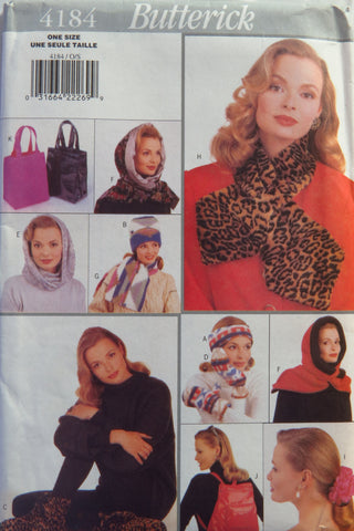 Butterick 4184 Misses' Gift Accessories -  - Smiths Depot Sewing Pattern Superstore