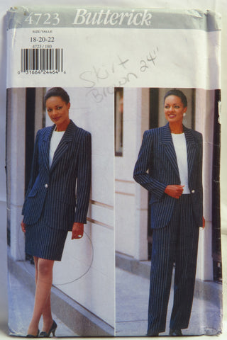 Butterick 4723 Misses'/Misses' Petite Jacket, Skirt and Pants -  - Smiths Depot Sewing Pattern Superstore