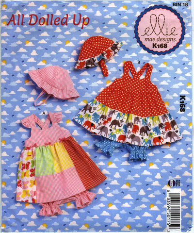 Kwik-Sew 0168 Babies' Dress, Panties and Hat -  - Smiths Depot Sewing Pattern Superstore