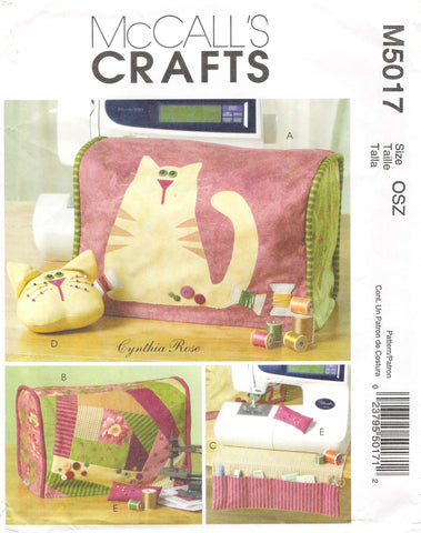 McCall's 5017 Sewing Machine Cover and Accessories -  - Smiths Depot Sewing Pattern Superstore