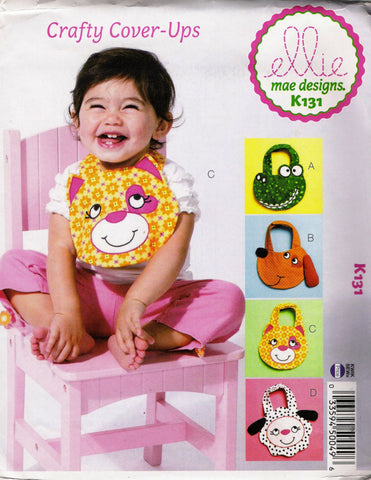 Kwik-Sew 0131 Crafty Cover-Ups Baby Bib -  - Smiths Depot Sewing Pattern Superstore