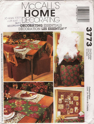 McCall's 3773 Deck the Halls Christmas Home Decorations