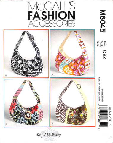McCall's 6045 Handbags and Purses