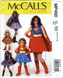 McCall's 0450 Misses'/Children's/Girls' Costumes - Kids (3-4-5-6-7-8) - Smiths Depot Sewing Pattern Superstore  - 1
