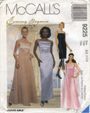 McCall's 9225 Misses' Lined Dresses in Two Lengths and Scarf - AX (4-6-8) - Smiths Depot Sewing Pattern Superstore  - 1