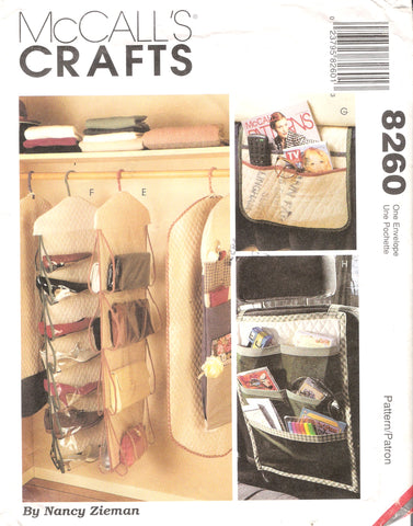 McCall's 8260 Multiple Organizers