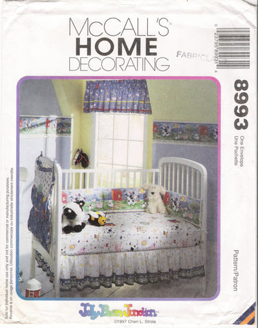 McCall's 8993 Old Macdonald Baby Room Set