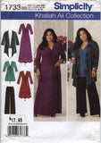 Simplicity 1733 Misses' & Plus Size Knit Sportswear - BB (20W-22W-24W-26W-28W) - Smiths Depot Sewing Pattern Superstore  - 2