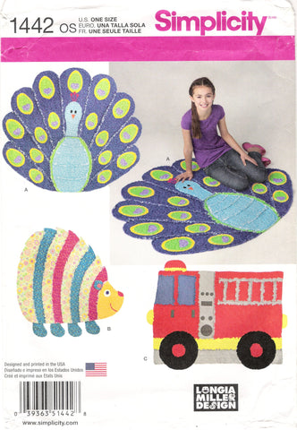 Simplicity 1442 Child's Rag Quilts -  - Smiths Depot Sewing Pattern Superstore