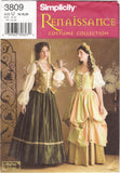 Simplicity 3809 Misses' Costumes - U (16-18-20) - Smiths Depot Sewing Pattern Superstore  - 3