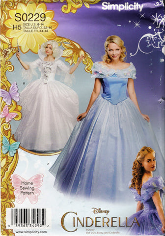 Simplicity 0229 Misses' Costumes - H5 (6-8-10-12-14) - Smiths Depot Sewing Pattern Superstore  - 1
