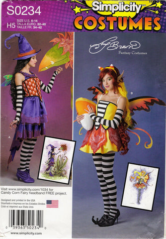 Simplicity 0234 Misses' Costumes -  - Smiths Depot Sewing Pattern Superstore  - 1