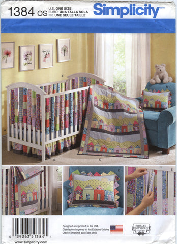 Simplicity 1384 Babies' Bedroom Essentials -  - Smiths Depot Sewing Pattern Superstore