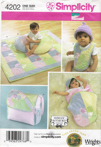 Simplicity 4202  Baby Accessiries