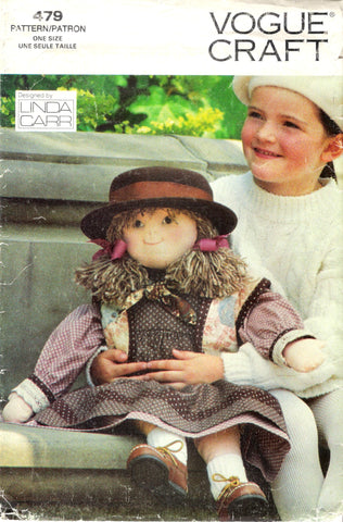 "Vogue 0479 Little Friend 27"" Doll -  - Smiths Depot Sewing Pattern Superstore"