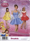 Simplicity 1553 Misses' Disney Princess Costume - R5 (14-16-18-20-22) - Smiths Depot Sewing Pattern Superstore  - 1