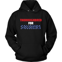 Thoroughbred For Soldiers Unisex Hoodie