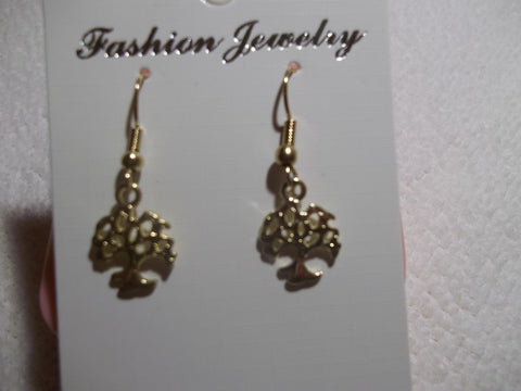 Gold Family Tree Earrings (E669)