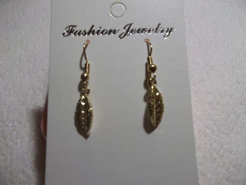 Gold Leaf Earrings (E670)