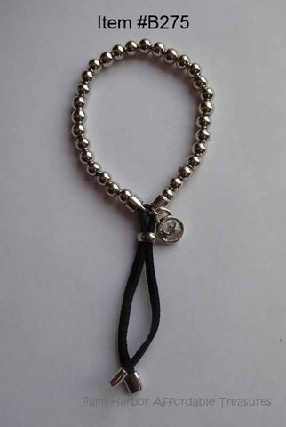 Kors Metal Ball Bead Bracelet