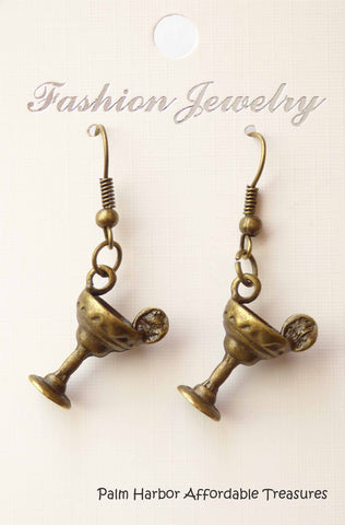 Bronze Margarita Earrings (E633)